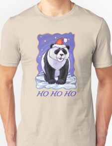 Panda Bear Christmas Card Unisex T-Shirt
