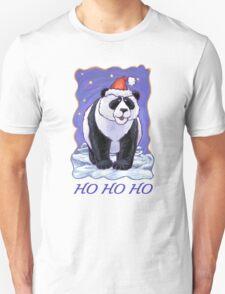 Panda Bear Christmas Card T-Shirt