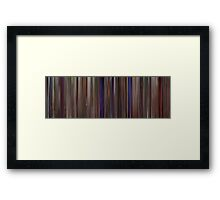 Moviebarcode: This Is Spinal Tap (1984) Framed Print