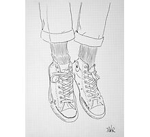 gym boots Photographic Print