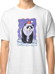 Panda Bear Christmas Classic T-Shirt