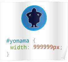 CSS Pun - Yo mama Poster