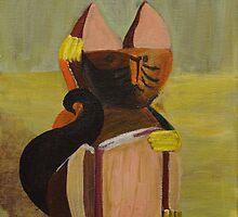 Lucky Cat by DarkHorseBailey