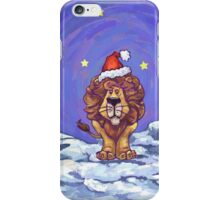 Lion Christmas iPhone Case/Skin