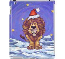 Lion Christmas iPad Case/Skin