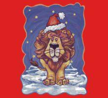 Lion Christmas One Piece - Short Sleeve