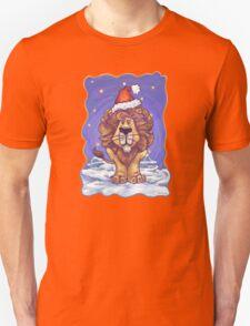Lion Christmas Unisex T-Shirt