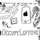 Occupy Leftovers cartoon by bubbleicious