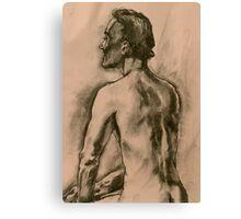 Johns back view Canvas Print