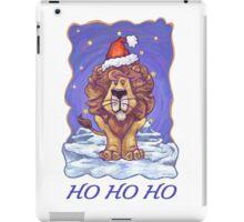 Lion Christmas Card iPad Case/Skin