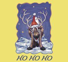 Reindeer Christmas One Piece - Short Sleeve
