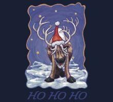 Reindeer Christmas Baby Tee