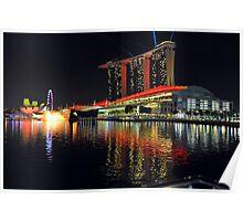 The Sands Marina Bay. Singapore. (2) Poster