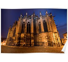 Nevers Cathedral France Poster