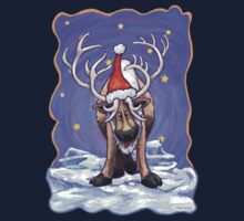 Reindeer Christmas One Piece - Short Sleeve