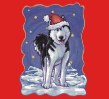Husky Christmas One Piece - Long Sleeve