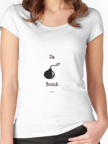 Da bomb Women's Fitted Scoop T-Shirt