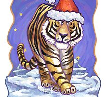 Tiger Christmas Card by ImagineThatNYC