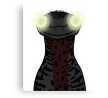 Jurassic Park - Creepy Troodon Canvas Print