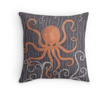 Often a Wave Throw Pillow