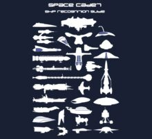 Space Cadet Ship Recognition Guide - Blue by mime666