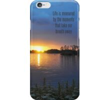 Take your breath away iPhone Case iPhone Case/Skin
