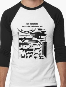 Choose your weapon Men's Baseball ¾ T-Shirt