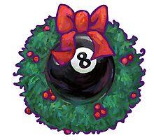8 Ball Christmas by ImagineThatNYC