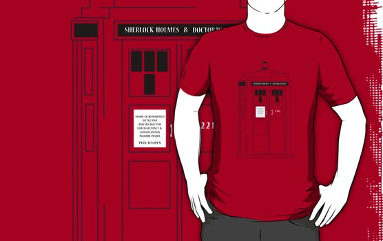 221b Public Phone Box by KitsuneDesigns