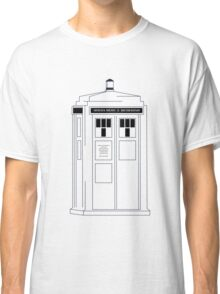 221b Public Phone Box Classic T-Shirt