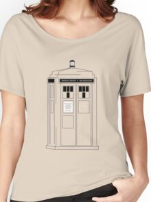 221b Public Phone Box Women's Relaxed Fit T-Shirt