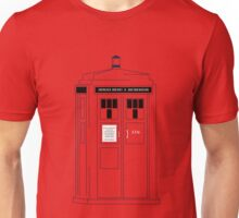221b Public Phone Box Unisex T-Shirt