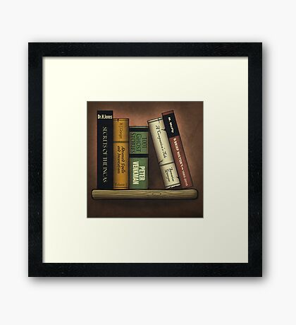 Recommended Reading Framed Print