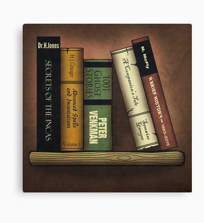 Recommended Reading Canvas Print