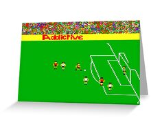 Football Manager Greeting Card