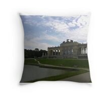 Gloriette, Vienna Austria Throw Pillow