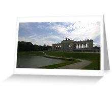 Gloriette, Vienna Austria Greeting Card