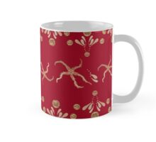 Starfish Glitz in Red  Mug