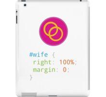 CSS Pun - Wife iPad Case/Skin