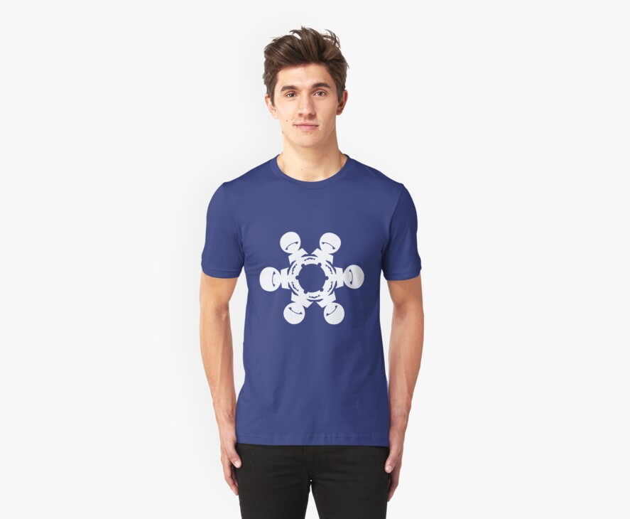 Marvin the Paranoid Android Snowflake by olavlj