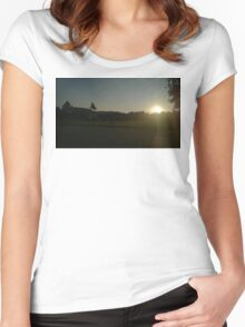 Vienna Silhouette Women's Fitted Scoop T-Shirt