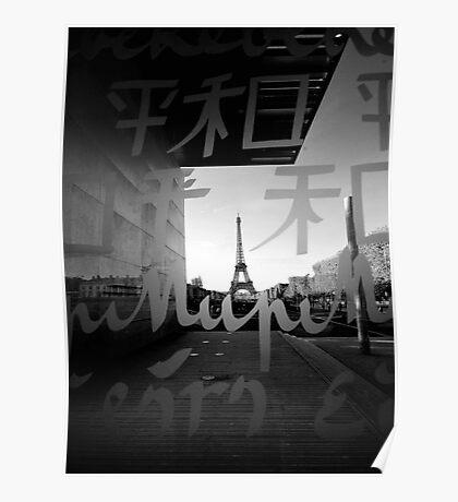 La tour Eiffel Poster