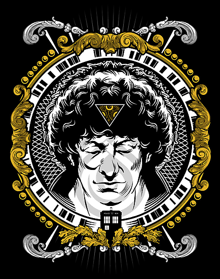 4th Doctor Poster by zerobriant