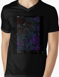USGS Topo Map Washington State WA Mt Rainier East 242653 1971 24000 Inverted Mens V-Neck T-Shirt