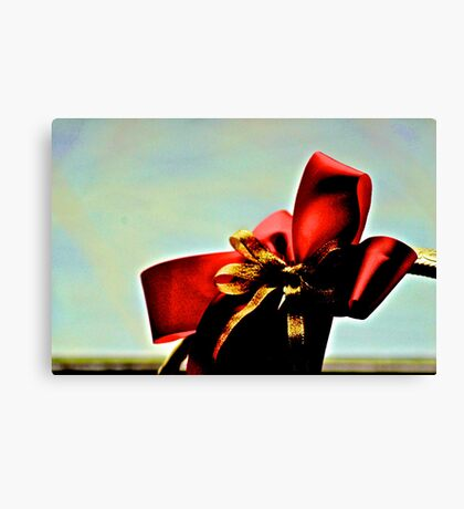 That what we think about...XMAS greeting...Got 3 Featured Works Canvas Print