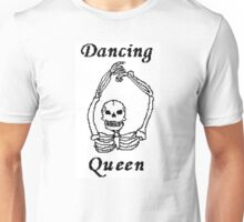 Dancing Queen Skeleton Unisex T-Shirt