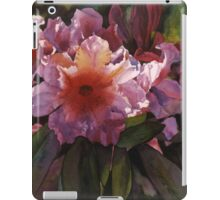 """Watercolor """"Autumn Gold"""" Rhododendron  iPad Case/Skin"""