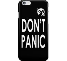 DON'T PANIC iPhone case iPhone Case/Skin