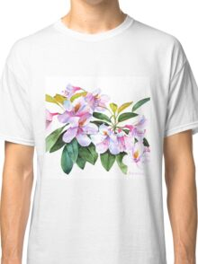 Spring Rhody Watercolor Classic T-Shirt