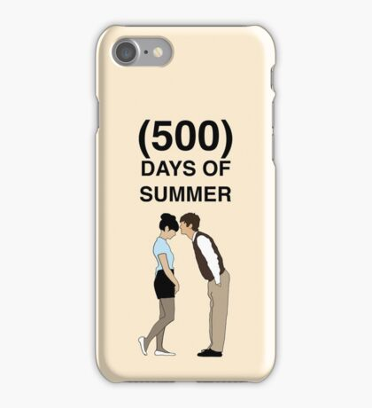 500 DAYS OF SUMMER iPhone Case/Skin